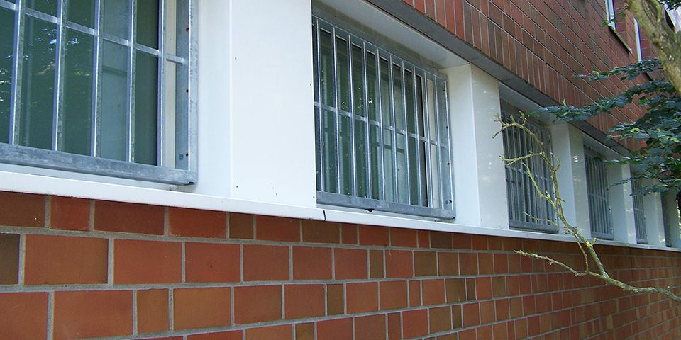 Security grilles, tested at both sides, forced entry and breakout resistances up to RC4.